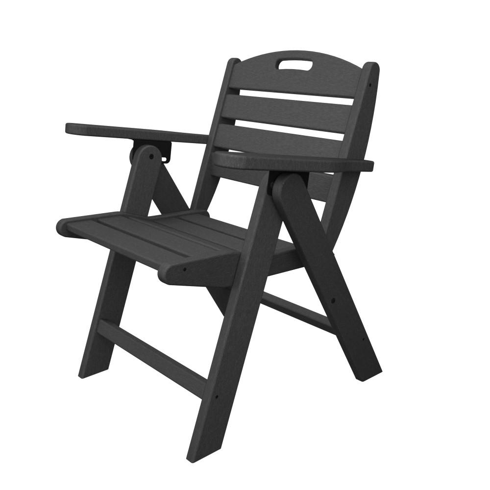 POLYWOOD� Nautical Highback Chair