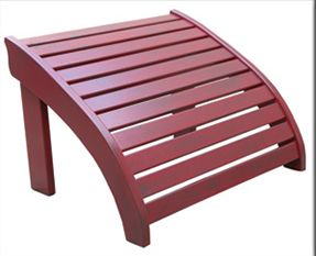 Old Forge Adirondack Brazilian Cherry Footrest
