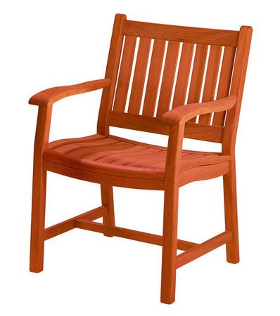 New River Charleston Arm Chair-Oil Finish