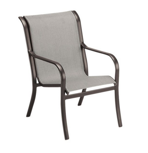 Pacific Aluminum Sling Dining Arm Chair