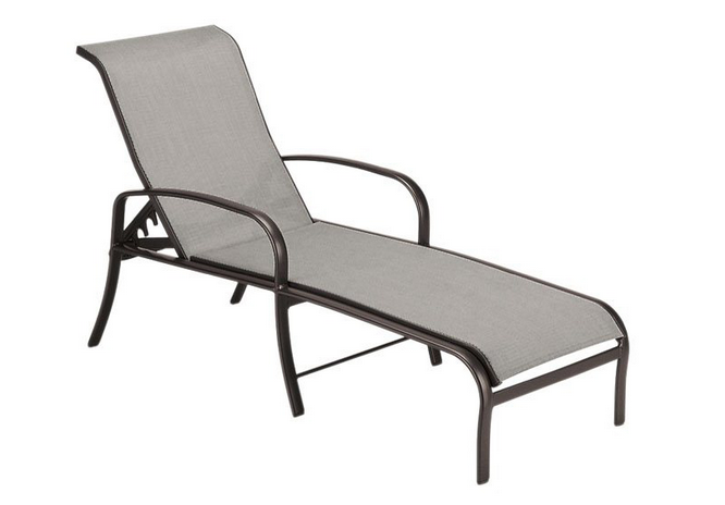 Pacific Aluminum Sling Adjustable Chaise Lounge