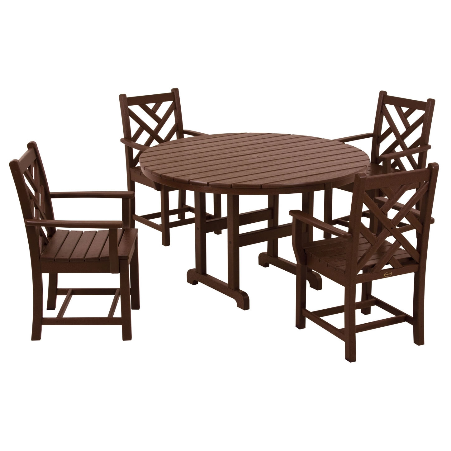 POLYWOOD� 5 Piece Chippendale Dining Ensemble