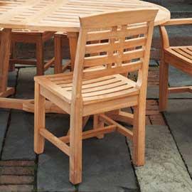 Kingsley-Bate Mandalay Teak Dining Side Chair
