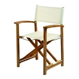 Capri Teak Director's Chair