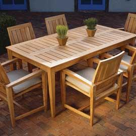 Kingsley-Bate Amalfi Rectangular Dining Table