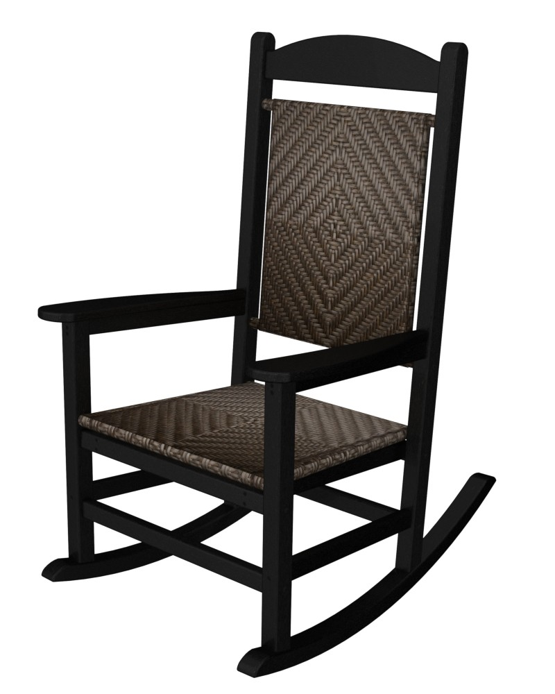 POLYWOOD� Presidential Woven Rocker