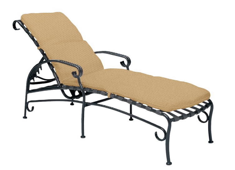 Ramsgate Aluminum Adjustable Chaise Lounge with Cushion