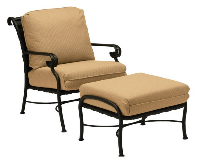 Ramsgate Aluminum Lounge Chair with Cushions