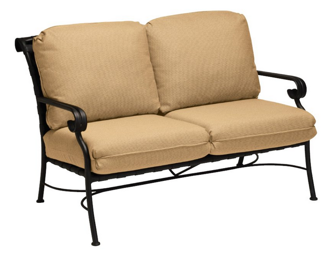 Ramsgate Aluminum Loveseat with Cushions