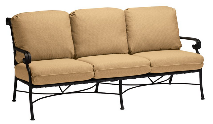 Ramsgate Aluminum Sofa with Cushions