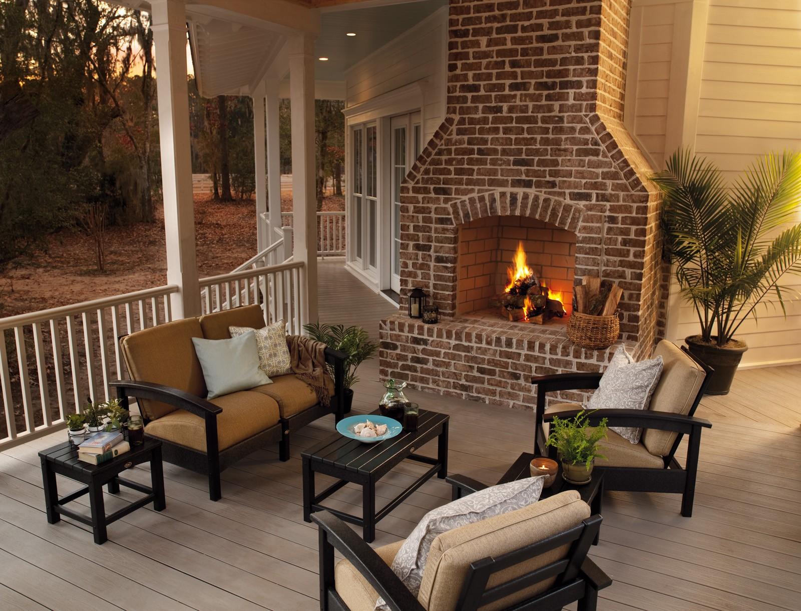 Trex� Outdoor Furniture� 6 Piece Rockport Seating Ensemble