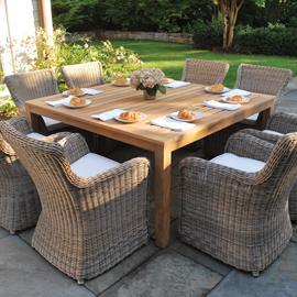 Kingsley-Bate Wainscott 61� Square Dining Table