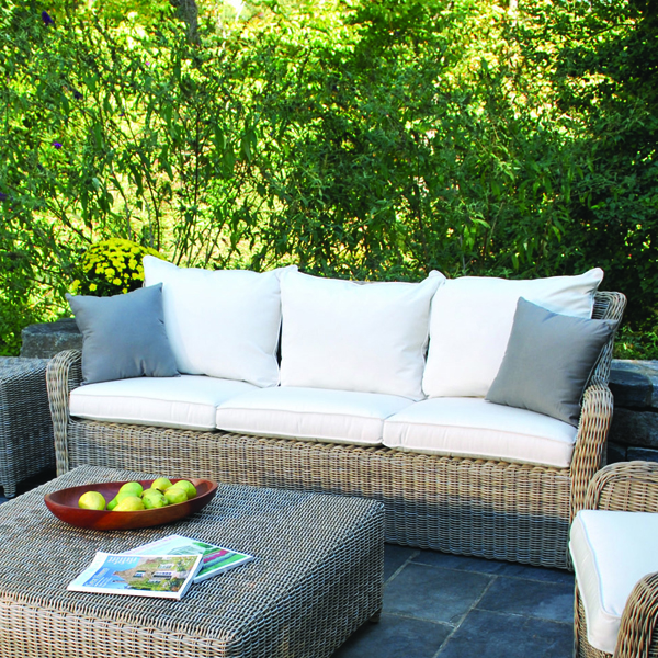 Kingsley-Bate Sag Harbor Woven Deep Seating Sofa