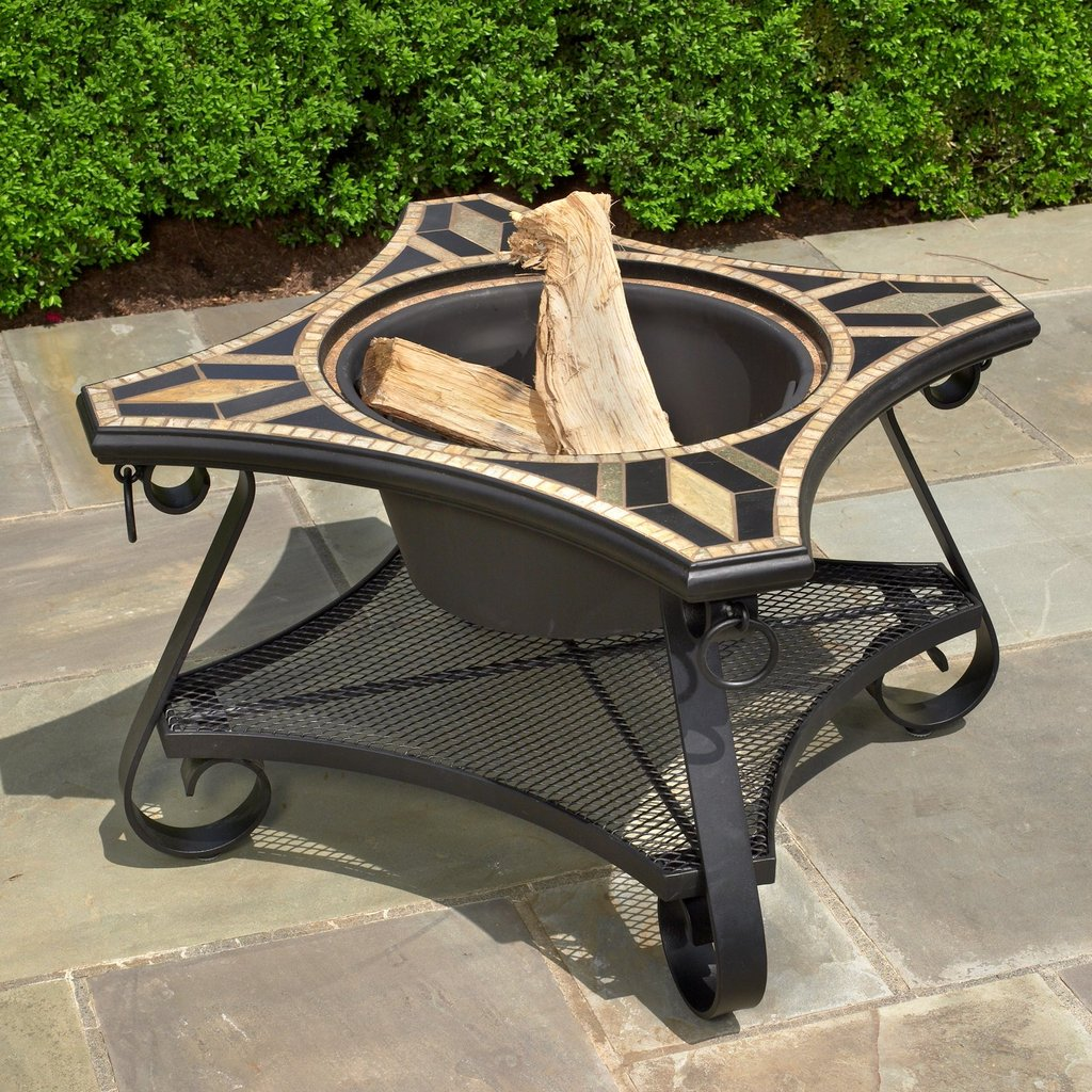 San Marco Specialty Beverage Cooler / Firepit Chat Table Kit