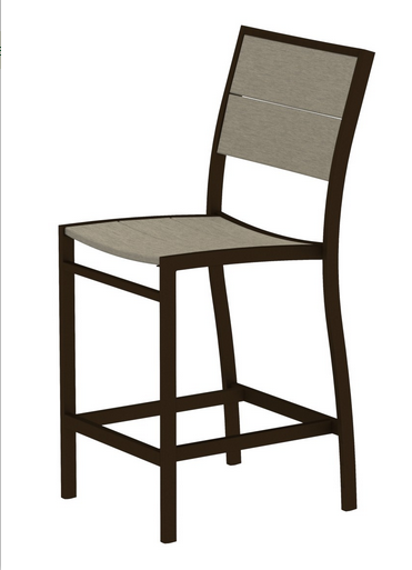 Trex� Outdoor Furniture� Surf City Counter Side Chair