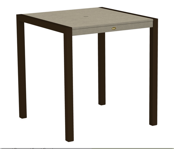 Trex� Outdoor Furniture� Surf City 36� Square Counter Table
