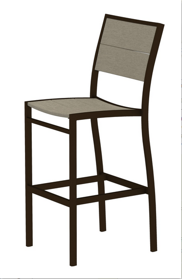 Trex� Outdoor Furniture� Surf City Bar Side Chair