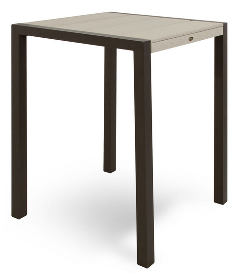 Trex� Outdoor Furniture� Surf City 30� Square Bar Table