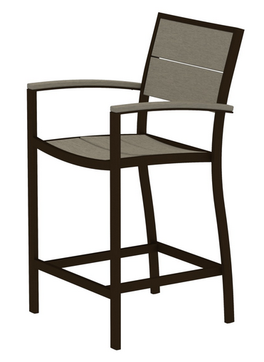 Trex� Outdoor Furniture� Surf City Counter Arm Chair