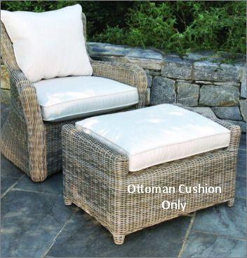 Kingsley-Bate Sag Harbor Deep Seating Ottoman Cushion