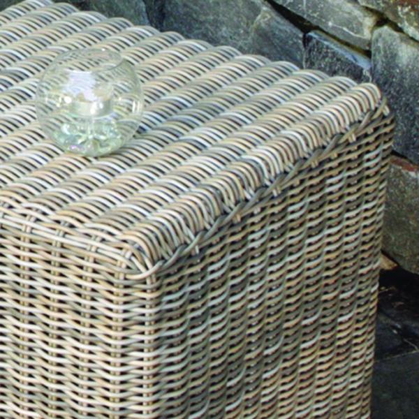 Kingsley-Bate Sag Harbor Woven 19.5� Square Side Table / Stool