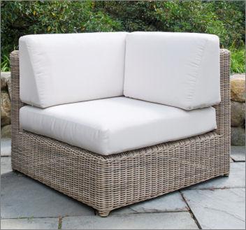 Kingsley-Bate Sag Harbor Woven Sectional – Corner Chair