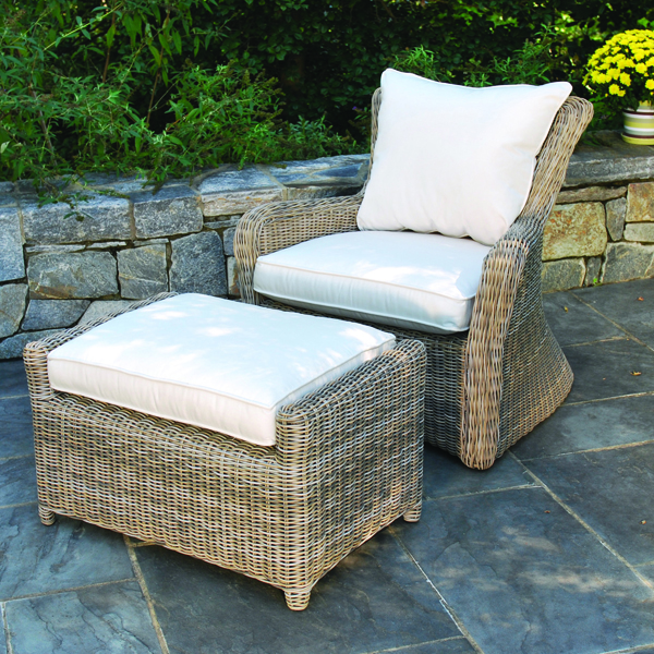 Super Kingsley Bate Sag Harbor Woven Deep Seating Lounge Chair Pdpeps Interior Chair Design Pdpepsorg
