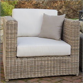 Kingsley-Bate Sag Harbor Woven Deep Seating Chat Chair