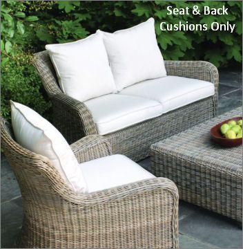 Kingsley-Bate Sag Harbor Deep Seating Settee Cushion