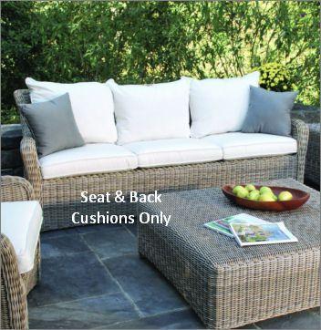 Kingsley-Bate Sag Harbor Deep Seating Sofa Cushion