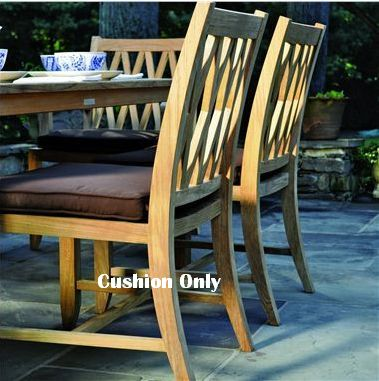 Kingsley-Bate Somerset Dining Side Chair Seat Cushion