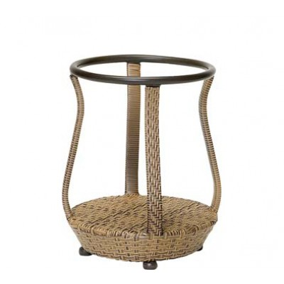 South Shore Wicker End Table Base