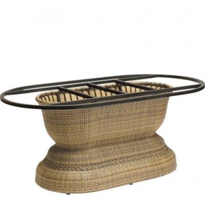 South Shore Large Wicker  Dining Table Base