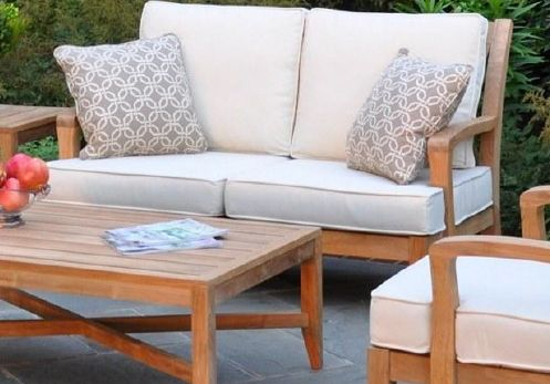Kingsley-Bates Teak Somerset Deep Seating Settee