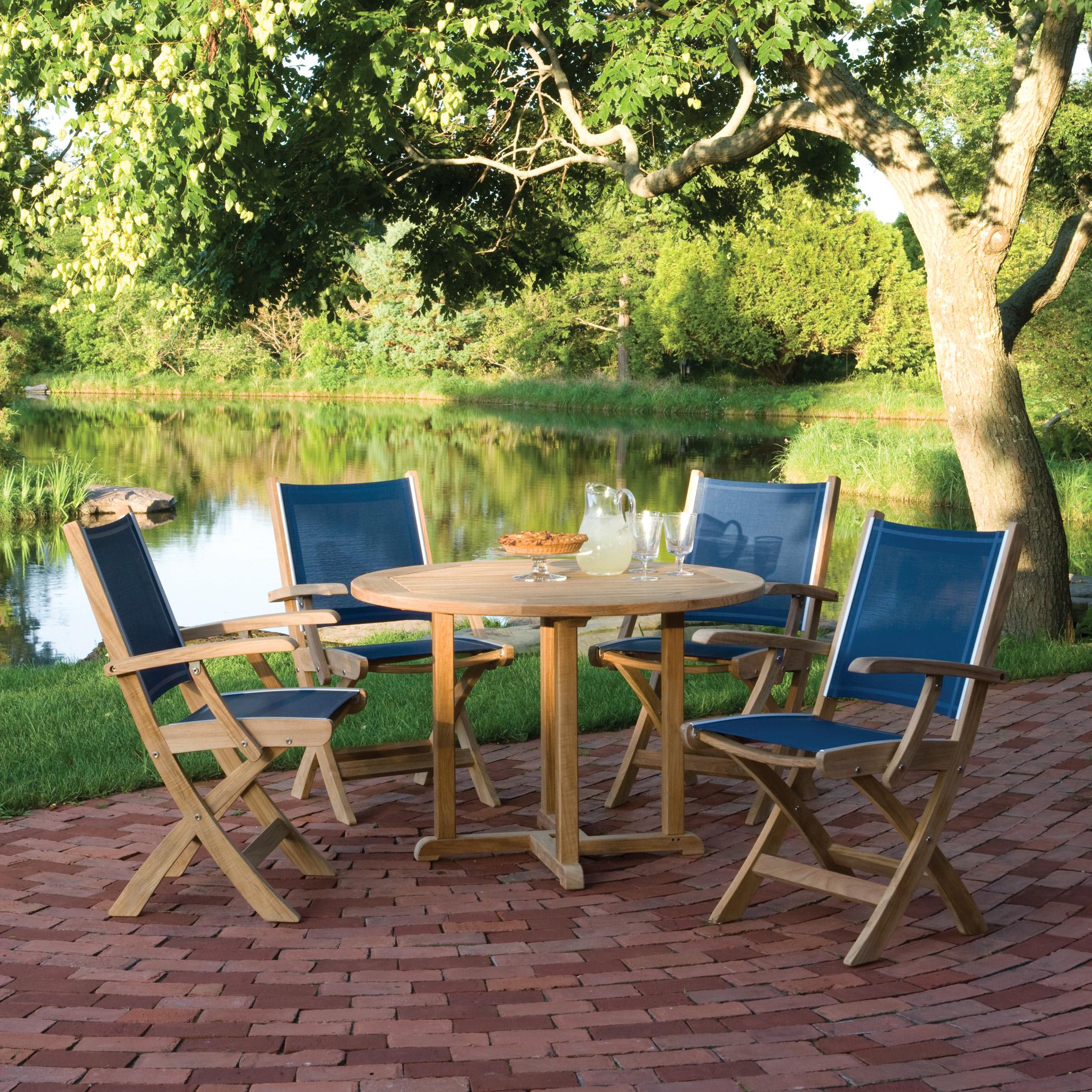 Kingsley-Bate St. Tropez Dining Armchair (Folding)