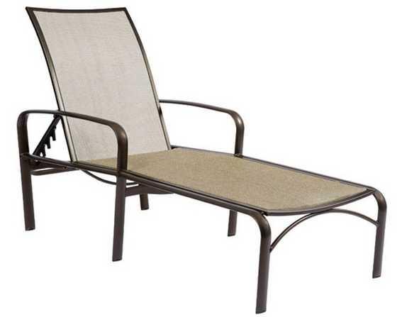 Sterling Aluminum Flex Adjustable Chaise Lounge