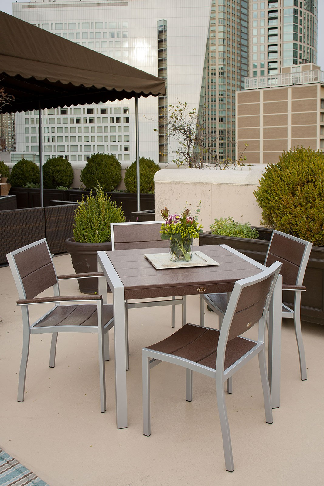 Trex� Outdoor Furniture� Surf City 5 Piece Dining Ensemble