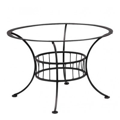 Terrace Wrought Iron Chat Table Base