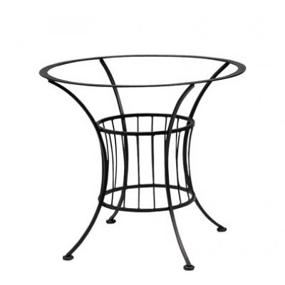 Terrace Wrought Iron Dining Table Base