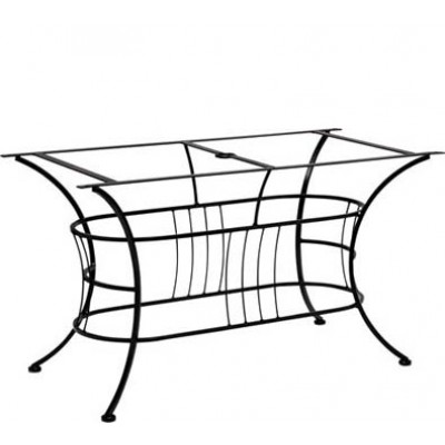 Terrace Large Wrought Iron Dining Table Base
