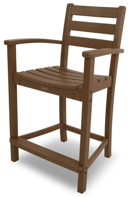 Trex� Outdoor Furniture� Monterey Bay Counter Arm Chair