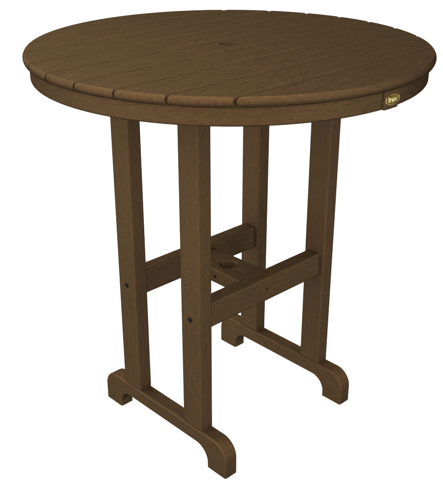 Trex� Outdoor Furniture� Monterey Bay Round 36� Bar Table