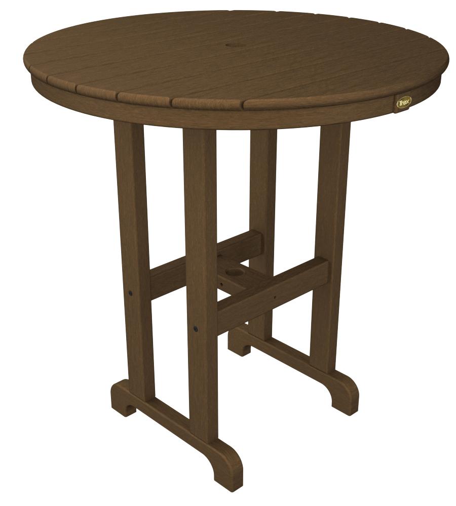 Trex� Outdoor Furniture� Monterey Bay Round 36� Bar Table