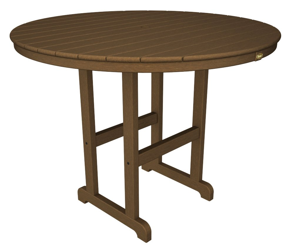 Trex� Outdoor Furniture� Monterey Bay Round 48� Counter Table