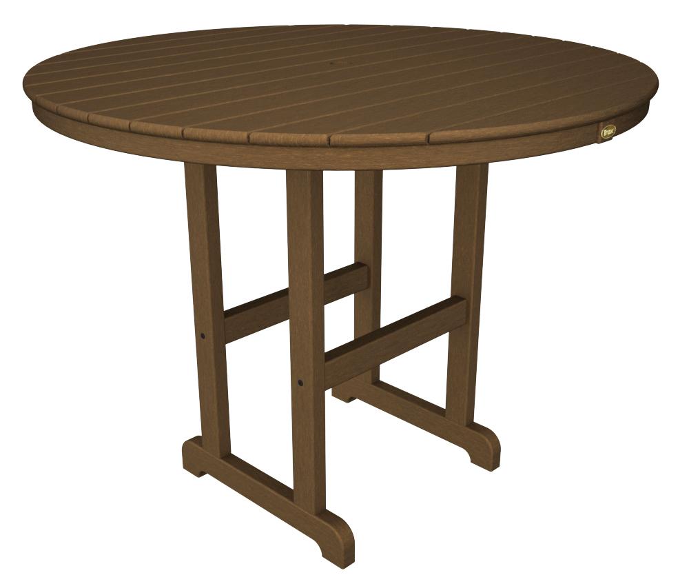Trex� Outdoor Furniture� Monterey Bay Round 48� Counter Table