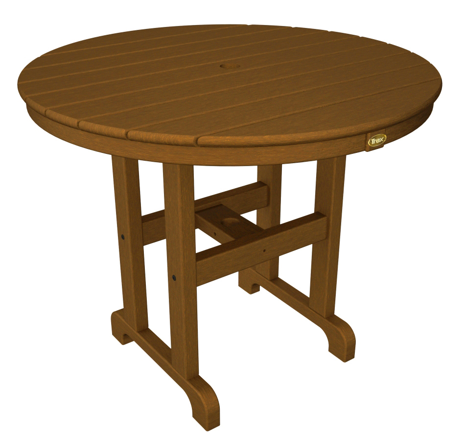Trex� Outdoor Furniture� Monterey Bay Round 36� Dining Table