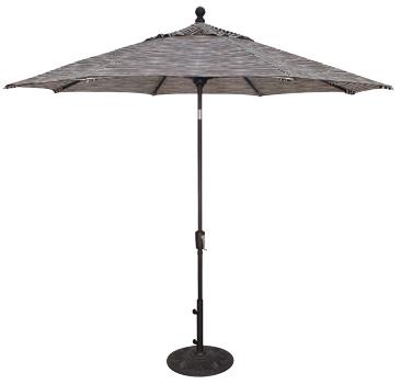 9′ Push Button Tilt Umbrella