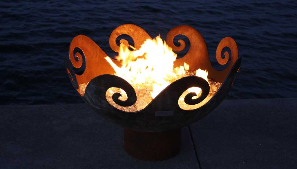 Waves O' Fire 37� Bowl