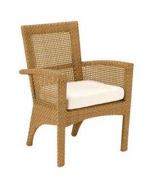 Trinidad Wicker Dining Armchair