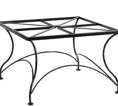 Wrought Iron Chat Table Base